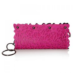 Fashion Style Openwork and Rivets Design Women's Clutch, ROSE in Clutch Bags | DressLily.com