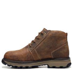 Caterpillar Men's Parker Medium/Wide Steel Toe Slip Resistant Work Boots (Brown Leather) - 11.0 M