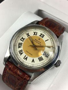 Sensational Rolex Oyster Date Precision Tuxedo