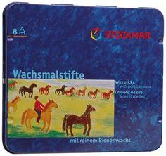 Stockmar - 31000 Wachsmalstifte Bienenwachs 83mm wasserfe…
