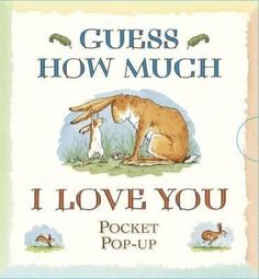 NEW Guess How Much I Love You - Pocket Pop-up by Sam McBratney Hardcover Book (E