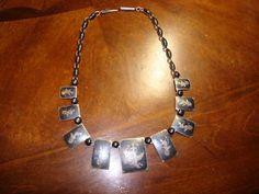 Siam Silver Nielloware Necklace