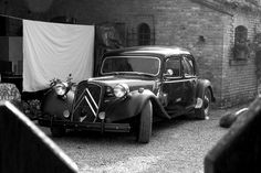 Citroen Traction Avant 1934    I think (think lol) that this was the first ever front wheel drive car.