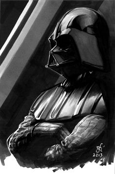 Darth Vader DSC by gph-artist. #StarWars #Art #gosstudio .★ We recommend Gift Shop: http://gosstudio.com