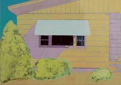 "Saatchi Art Artist Adalberto Ortiz; Painting, ""White Awning"" #art"