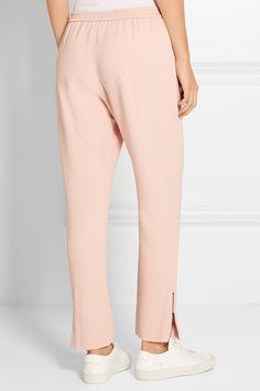Pastel-pink stretch-crepe Pull on 64% viscose, 32% acetate, 4% elastane Dry clean Designer color: Rose  Imported
