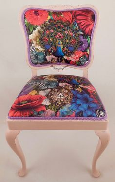 Chair Paradiso Old Chippendale Restyled By MotleyChairs
