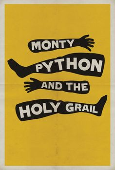 Monty Python and the Holy Grail | by Matt Owen #movie #poster