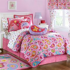 Paisley Dreams Comforter Olive Kids