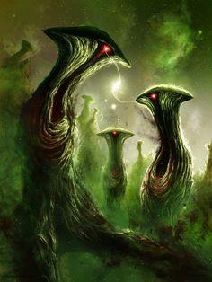 Nebulous Nightmares II Matthew Attard Digital painting 2017 http://ift.tt/2gQuaVp