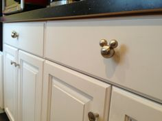 Mickey Mouse drawer pulls or cabinet knobs