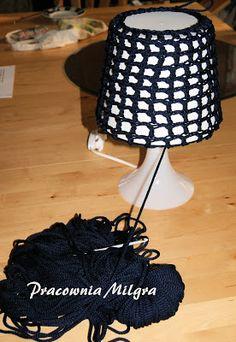 Pracownia Milgra: Lampka z Ikea w morskiej aranżacji