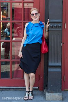 How to meet me in New York and what I wore on my first day!   40plusstyle.com