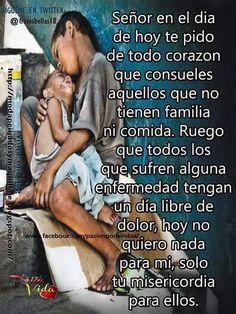 Prayer Verses, God Prayer, Prayer Quotes, Faith Quotes, Bible Quotes, Catholic Prayers, Spanish Prayers, Spanish Inspirational Quotes, God Help Me