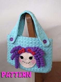 Lalaloopsy Inspired Crochet Purse