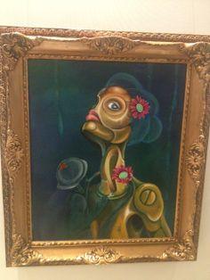 By Adriana Perez Orozco #art #painting #exhibit #popsurrealism #culture #acrylic #draw #spain #artist #tunis