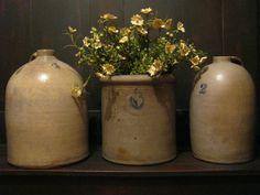old crocks and jugs