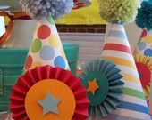 Circus, Big Top, Carnival Birthday Celebration Party to Go