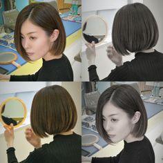 one length bob hair                                          RULeR Hair Dressing makoto ishii