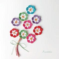 Happy Sunday evening! ☀️ #anabeliacraftdesign #crochetflower #igcrochet #hakeniscool #hakeniship #igcrocheters #summercrochet