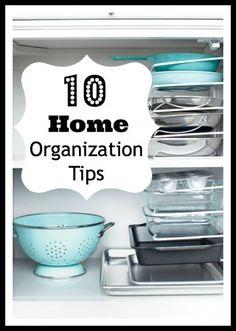 10 Simple Home Organization Tips - Tipsaholic.com #home #organizing #organization