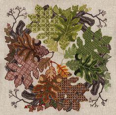 fall leaves idea