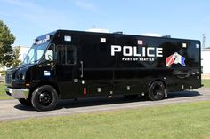 ◆The Port of Seattle, WA PD Emergency Response/Mobile Command Vehicle◆