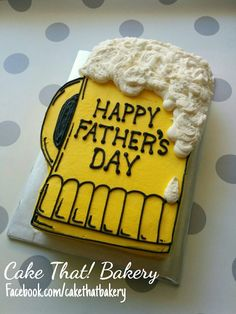 Father's day beer mug sheet cake … - Backen Happy Fathers Day Cake, Fathers Day Cupcakes, Cakes For Men, Cakes And More, Beer Mug Cake, Beer Cakes, Birthday Cake For Him, Beer Birthday Cakes, Happy Birthday