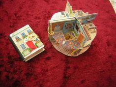 Pop-Up book My Home/ dollshouse - JanasMinibooks