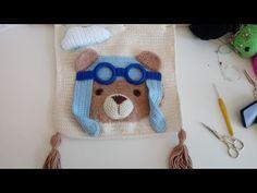 Crochet Hats, Crochet Blankets, C2c, Free Pattern, Cushions, Teddy Bear, Rugs, How To Make, Youtube