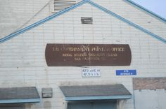a former post office that was located on the island