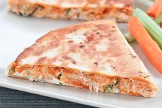 These Buffalo Chicken Quesadillas Are Next-Level Good #Refinery29