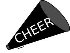 Clip Art Free Cheerleader Clipart free cheer sillohette clip art black and white cheerleader megaphone vector clip