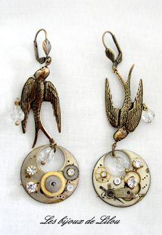 Boucle d'oreilles Les bijoux de Lilou