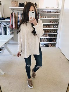 winter outfits with leggings 139 cozy and cute win - winteroutfits Cute Winter Outfits, Fall Outfits, Casual Outfits, Cute Outfits, Fashion Outfits, Fashion Trends, Early Spring Outfits, Winter Clothes, Womens Fashion