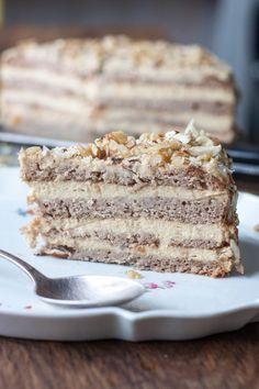 Vegan Treats, Vegan Desserts, Polish Desserts, Cake Recipes, Dessert Recipes, Love Eat, Keto, Vegan Cake, Healthy Sweets
