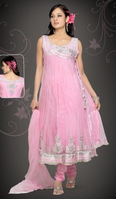 Pink Cotton Designer Wedding Bollywood Salwar Kameez