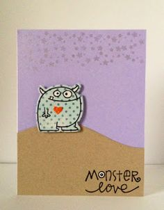 Card by SPARKS DT Jamie Greene PS stamp sets: Royal Cuteness and Falling For You; PS dies: Falling for You and Borders1