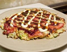 Yummo!!!!!!!! Best Recipe - Okonomiyaki World - Recipes, Information, History & Ingredients for this unique Japanese Food