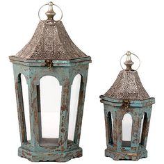 I pinned this 2 Piece Toulouse Lantern Set from the Blue Note event at Joss and Main!