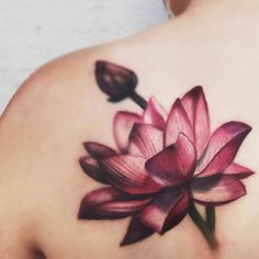Lotus Flower Tattoo Artist: High Voltage Tattoo ⚡️⚡️ Kat Von D's High Voltage Tattoo 1259 N. La Brea Ave. West Hollywood, CA Submit your tattoo to 900,000 followers here: TATTOOS.ORG