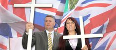 Britain First has been denounced by every major Christian denomination in the UK, The Huffington Post UK can reveal today, a week after the far-right group held a so-called 'Christian patrol' targetin. Cops, About Uk, Britain, Islam, Hate, Christian, Articles, Woman, Fringes