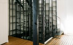 stairs+shelves St Ouen - Design - NL*A Paris