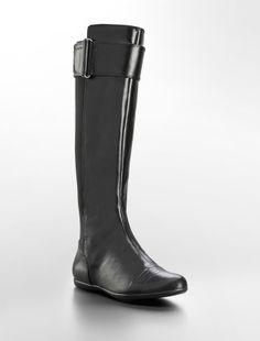 Calvin Klein marinah stretch flat boot