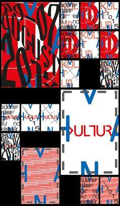 Alexander kuliev experimental typographic poster