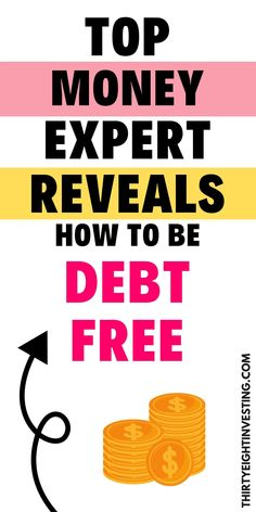 How to pay off money to be debt free! Discover the secrets to achieve debt freedom. Become financially free with these top tips! Finance Books, Finance Tips, Financial Literacy, Financial Planning, Making A Budget, Budgeting Finances, Debt Payoff, Debt Free, Money Management