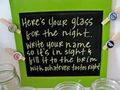 Social: 30th Birthday Beer Bash. ((Irish Car Bomb cupcakes... Blue Moon, Ghost River, all his faves... Custom glasses as favors?))