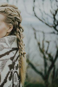 Braid. Nordic. Hair & make-up by Gethe Rohumägi. Photo: Marit Karp. Model: Carmen Katariina (Metro Models Tallinn)