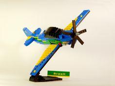 LEGO Ideas - Embraer A-29 Super Tucano (Smoke Squadron)