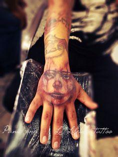 Tatuaje por Panic one en el estudio La Libélula Tattoo
